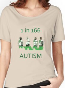 Autism 1 in 166 T-shirt Women's Relaxed Fit T-Shirt