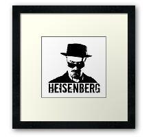 Heisenberg - Breaking Bad Framed Print