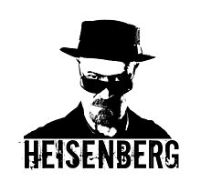 Heisenberg - Breaking Bad Photographic Print