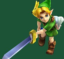 Young Link Hyrule Warriors by ciccioDeeamci