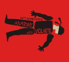 Anatomy of a Vigilante by Eman! Arts and Illustration