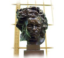 Beethoven au Musee d'Orsay a Paris   Photographic Print