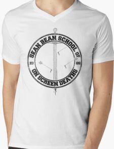 Sean Bean School of On Screen Deaths Mens V-Neck T-Shirt