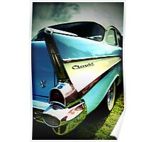 Fins and Chrome Poster