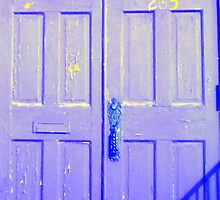 Door 205 Blue by Philip Okoro