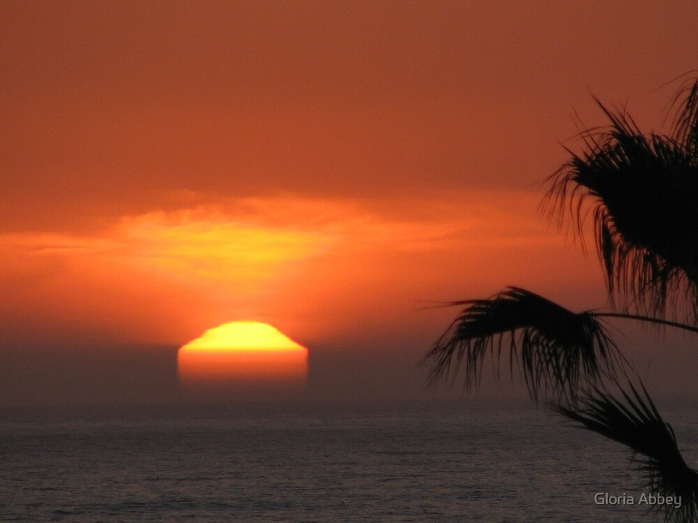 Untouched Sunset~Playa del Rey, CA by Gloria Abbey