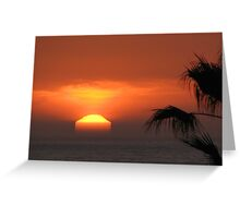Untouched Sunset~Playa del Rey, CA Greeting Card