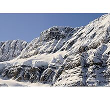 Frozen Rockies Photographic Print