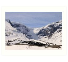 View of the Glacier Art Print