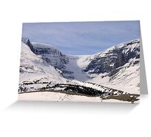 View of the Glacier Greeting Card