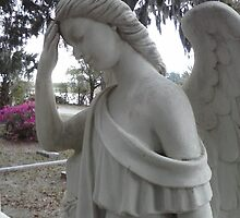 Face Palm Angel by Melanie Whitfield
