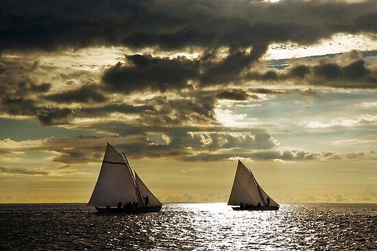 Sailing boats by mrfotos