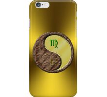 Virgo & Dragon Yang Metal iPhone Case/Skin