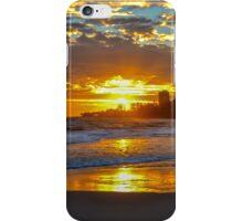 Sunrise at Coolangatta, Queensland iPhone Case/Skin
