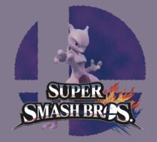 Mewtwo Smash Bros 3ds/Wiiu Kids Clothes