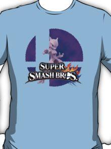 Mewtwo Smash Bros 3ds/Wiiu T-Shirt