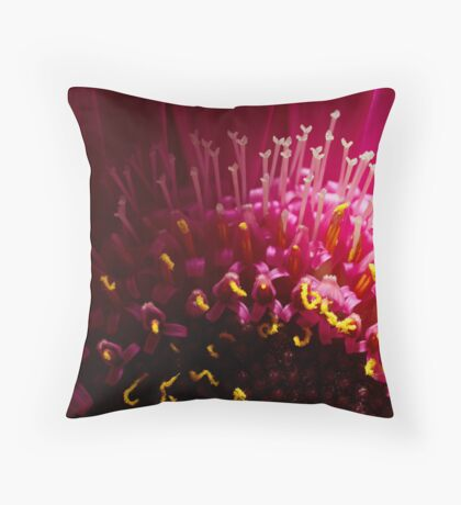 Into the light. Throw Pillow