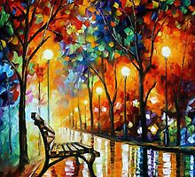 The Loneliness Of Autumn — Buy Now Link - www.etsy.com/listing/128312107 by Leonid  Afremov