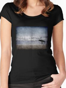 Vintage Summer  - Tshirt Women's Fitted Scoop T-Shirt