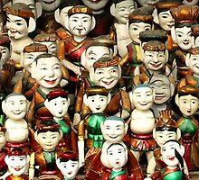 Water Puppets, Vietnam by Robert La Bua