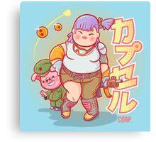 Chubby Bulma Canvas Print
