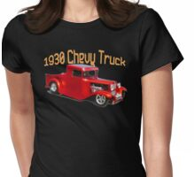 30' Chevy Truck Womens Fitted T-Shirt