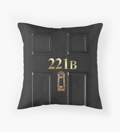 221b Bag Throw Pillow