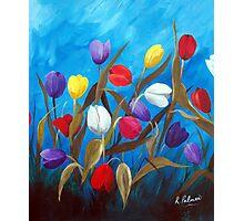 Tulips Galore II Photographic Print