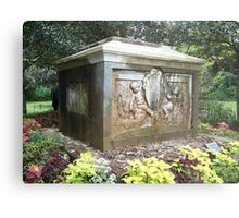 The tomb Metal Print