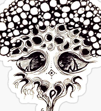The bubble tree Sticker