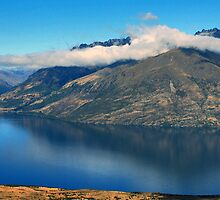Lake Wakatipu, Queenstown by Jude Glenn