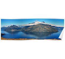 Lake Wakatipu, Queenstown Poster