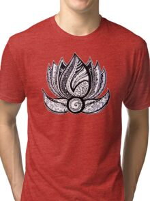 Lotus (T-shirts and stickers) Tri-blend T-Shirt