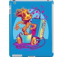 GROOVIN' THROUGH THE GALAXY iPad Case/Skin