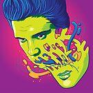 Happily melting Elvis by TokyoCandies