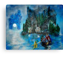 Master of the Lake Canvas Print