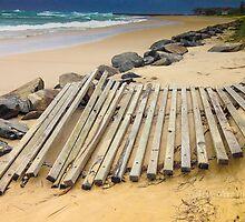 Beach Erosion - Kingscliff NSW Australia by StuCrawford