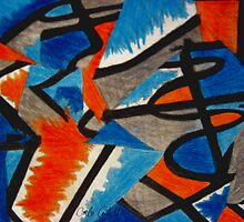 Abstract Leger no.2 by Orla Cahill