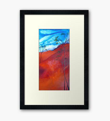 Up North Framed Print