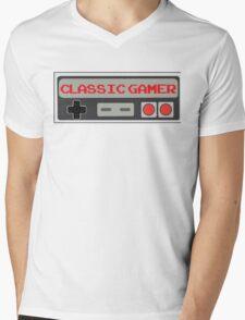 Classic Gamer (NES VERSION) Mens V-Neck T-Shirt