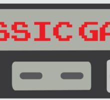 Classic Gamer (NES VERSION) Sticker