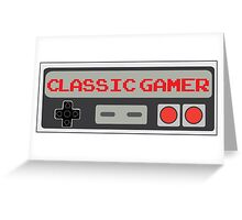 Classic Gamer (NES VERSION) Greeting Card