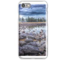 Storm front approaching Burleigh Heads, Qld Australia iPhone Case/Skin
