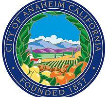 Seal of Anaheim  by abbeyz71