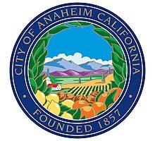 Seal of Anaheim  Photographic Print