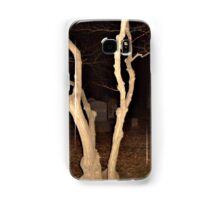 Twisted Tree in the Cemetery at Night Samsung Galaxy Case/Skin