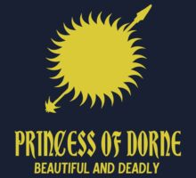 Princess of Dorne by JDtheSnakeGirl