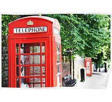North London Phone Box Poster