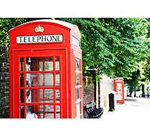 North London Phone Box Photographic Print