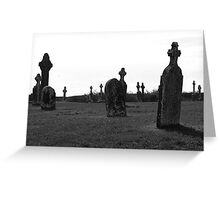 Jeeper Creeper Headstones Greeting Card